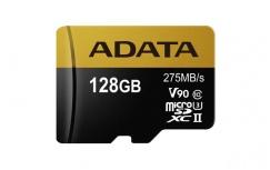 Memoria Flash Adata Premier One V90, 128GB MicroSDXC UHS-II Clase 10, con Adaptador
