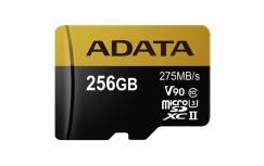 Memoria Flash Adata Premier ONE, 256GB MicroSDXC UHS-II Clase 10, con Adaptador