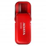Memoria USB Adata UV240, 16GB, USB 2.0, Rojo