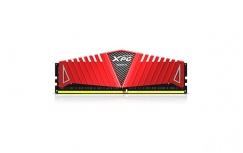 Memoria RAM Adata XPG Z1 DDR4, 2400MHz, 8GB, Non-ECC, CL15, Rojo