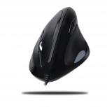 Mouse Adesso Óptico iMouse E3, Alámbrico, USB, 6400DPI, Negro