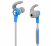 Altec Lansing Audífonos Intrauriculares MZX857, Inalámbrico, Bluetooth, Azul/Gris