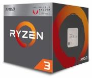 Procesador AMD Ryzen 3 2200G con Gráficos Radeon Vega 8, S-AM4, 3.50GHz, Quad-Core, 2MB L2 Cache, con Disipador Wraith Stealth ― Verifique que su tarjeta madre esté preparada para Ryzen serie 2000