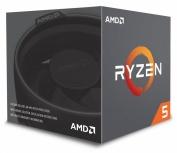 Procesador AMD Ryzen 5 2600, S-AM4, 3.40GHz, Six-Core, 16MB L3 Cache, con Disipador Wraith Stealth