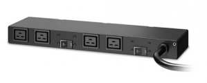 APC PDU para Rack 1U AP6031A, 30A, 208V, 4 Contactos