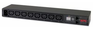 APC PDU para Rack 1U AP7821B, 20A, 230V, 8 Contactos