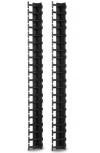 APC Organizador de Cables Vertical 88.9cm, 42U, Negro