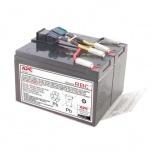 APC Batería de Reemplazo para UPS Cartucho #48 RBC48