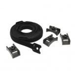 APC Kit Gestionador de Cableado con Gancho y Bucle, Negro, 10 Piezas