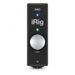 IK Multimedia Interfaz de Audio y MIDI iRig PRO, Alámbrico, Lightning, Negro