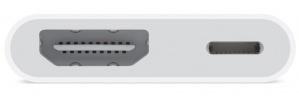 Apple Adaptador Lightning - Digital AV, Blanco