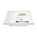 Apple Lápiz Digital Pencil para iPad Pro, Blanco