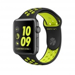 Apple Watch Nike+ OLED, watchOS 3, Bluetooth 4.0, 38mm, Negro/Verde