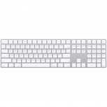 Apple Teclado Magic Q052LZ/A, Bluetooth, Inalámbrico, Blanco (Inglés)