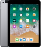 Apple iPad Retina 9.7'', 32GB, 2048 x 1536 Pixeles, iOS 11, WiFi + Cellular, Bluetooth 4.2, Gris Espacial (Marzo 2018)