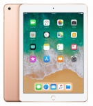 Apple iPad Retina 9.7'', 128GB, 2048 x 1536 Pixeles, iOS 11, Wi-Fi, Bluetooth 4.2, Oro (Mayo 2018)