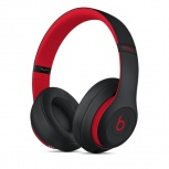 Beats by Dr. Dre Audífonos Beats Studio3, Inalámbrico, Bluetooth, Negro/Rojo