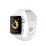 Apple Watch Series 3 OLED, watchOS 5, Bluetooth 4.2, 38.6mm, Plata