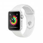 Apple Watch Series 3 OLED, Bluetooth 4.2, 42.5mm, Blanco