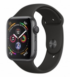Apple Watch Series 4 OLED, watchOS 5, Bluetooth 5, 1.07cm, Space Gray