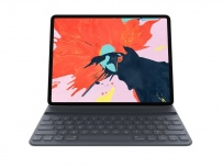 Apple Smart Keyboard Folio para iPad Pro 12.9'' Tercera Generación, Negro (Inglés)