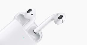 Apple AirPods (2da. Generación), Inalámbrico, Bluetooth, Blanco - incluye Estuche de Carga Alámbrico