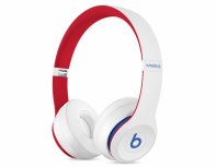 Beats by Dr. Dre Audífonos Beats Solo3 Wireless, Bluetooth, Blanco/Rojo