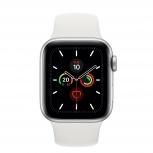 Apple Watch Series 5 OLED, 40mm, Plata, Correa Deportiva
