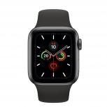 Apple Watch Series 5 OLED, 40mm, Negro, Correa Deportiva