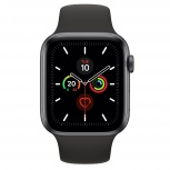 Apple Watch Series 5 OLED, 44mm, Space Gray, Correa Deportiva
