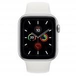 Apple Watch Series 5 GPS OLED, watchOS 6, Bluetooth 5.0, 44mm, Plata/Blanco