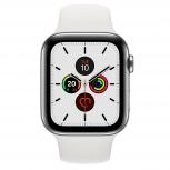 Apple Watch Series 5 GPS + Cell  OLED, watchOS 6, Bluetooth 5.0, 44mm, Plata/Blanco