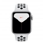 Apple Watch Nike Series 5 OLED, 40mm, Plata
