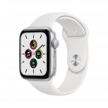 Apple Watch SE OLED, Bluetooth 5.0, 44mm, Plata/Blanco