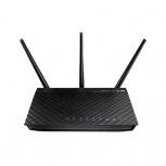 Router ASUS Gigabit Ethernet RT-N66R, 450 Mbit/s, 4x RJ-45, 2.4GHz/5GHz, 3 Antenas