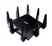Router ASUS Gigabit Ethernet RT-AC5300 Tri-Band con AiMesh, Inalámbrico, 4x RJ-45, 2.4/5GHz ― ¡Optimizado para Gaming!