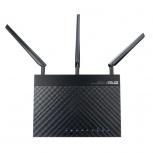 Router ASUS Ethernet RT-AC1750, Inalámbrico, 1300Mbit/s, 4x RJ-45, 2.4/5GHz, 3 Antenas Externas