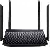 Router ASUS Ethernet  Firewall RT-N19, Inalámbrico, 600Mbit/s, 4x RJ-45, 2.4GHz, 4 Antenas Externas