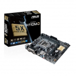 Tarjeta Madre ASUS micro ATX H110M-D, S-1151, Intel H110, HDMI, 32GB DDR4, para Intel ― Requiere Actualización de BIOS para trabajar con Procesadores de 7ma Generación