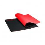 Mousepad Gamer ASUS ROG Whetstone, 32x27cm, Grosor 2mm, Negro/Rojo