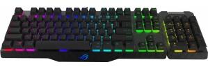 Teclado Gamer ASUS ROG Claymore RGB, Teclado Mecánico, Cherry MX Brown, Alámbrico, Negro (Inglés)