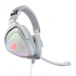 ASUS Audífonos Gamer ROG Delta Core, Alámbrico, 1.5 Metros, 3.5mm, Blanco