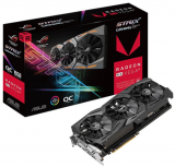 Tarjeta de Video ASUS AMD Radeon RX Vega 64 ROG Strix Gaming OC, 8GB 2048 bit HBM2, PCI Express 3.0
