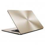 Laptop ASUS VivoBook A505BA 15.6'' HD, AMD A9-9425 3.10GHz, 4GB, 1TB, Windows 10 Home 64-bit, Oro