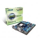 ASUS T. Madre uATX M4A88T-M, S-AM3, DDR3 para Phenom II/Athlon II/Sempron 100