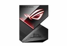ASUS ROG-NVLINK RTX SLI Bridge con Aura Sync RGB, 3 Slots, Negro