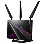 Router Gamer ASUS con Sistema de Red Wi-Fi en Malla ROG Rapture GT-AC2900, 2167 Mbit/s, 2.4GHz/5GHz, 3 Antenas Externas/1 Antena Interna,