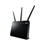 Router ASUS Gigabit Ethernet AC1900 RT-AC68U AiMesh, Inalámbrico, 4x RJ-45, 2.4/5GHz, 3 Antenas ― ¡Optimizado para Gaming!