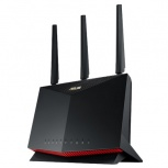 Router ASUS Gigabit Ethernet RT-AX86U AX5700, Inalámbrico, 2.4/5GHz, 6x RJ-45, 5700 Mbps, 3 Antenas Externas ― ¡Optimizado para Gaming!
