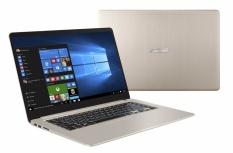 Laptop ASUS VivoBook S510UN-BQ050T 15.6'' Full HD, Intel Core i7-8550U 1.80GHz, 8GB, 1TB, NVIDIA GeForce MX150, Windows 10 Home 64-bit, Oro